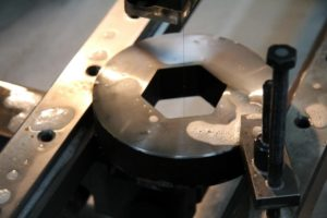 Электроэрозионная обработка детали