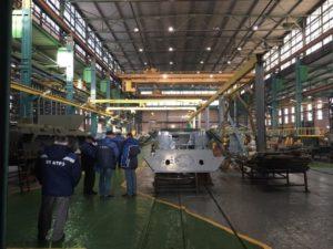 АО СКБ «Точрадиомаш» приступил к выполнению заказа по изготовлению и «сдаче под ключ» автоматизированного склада контейнеров по заказу АО «81 БТРЗ» в г. Армавир
